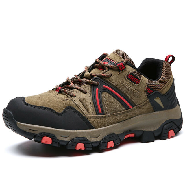 8a7ad62c2e2 Men's Trekking Hiking Shoes Low-Top Oxford Water Resistant Outdoor Sneakers