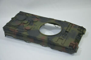 RC-1-24-VS-Tank-LEOPARD-2-UPPER-HULL-No-Speaker-Electrics-A02101576-VSTANK-MODEL