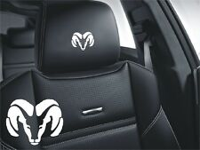 5x Dodge Logo Simbol für Ledersitze Viper Ram Nitro Neon...