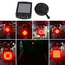 64 LED Fahrrad Rücklicht Fernsteueren Richtung Kontrolllampe Laserstrahl Licht
