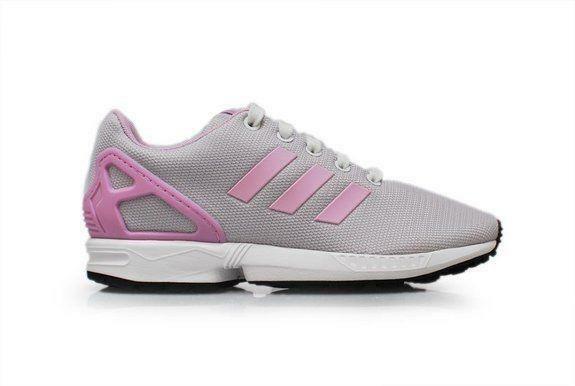 beec975fecabc Girls Junior adidas ZX Flux Pink Trainers B33946 Aus 7.5 for sale online