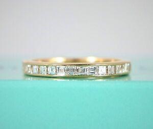 36aa23d82 $4,500 Vintage Tiffany Co 18K Yellow Gold Asscher Cut Diamond ...