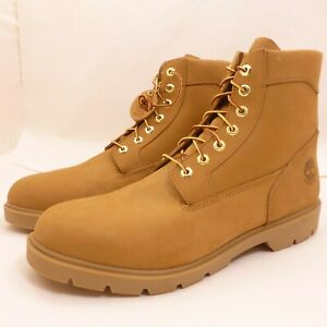 Timberland-6-034-Wheat-Brown-Nubuck-Basic-Waterproof-Leather-Boots-19079-MENS-15