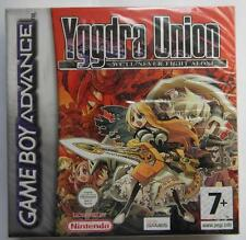 YGGDRA UNION WE'LL NEVER FIGHT ALONE NINTENDO GAME BOY ADVANCE SEALED