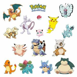 Image Is Loading RoomMates Iconic Pokemon Peel And Stick Wall Decals  Part 44