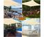 miniatura 3 - Tenda a vela quadrata ombreggiante mt 3, 4 o 5 mt telo ombra giardino parasole