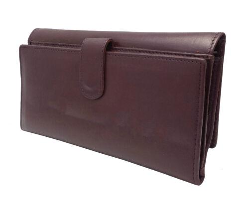 Femmes designer j Wilson en cuir véritable portefeuille femmes qualité embrayage sac à main carte