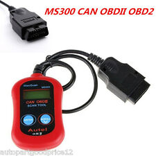 MS300 Car Diagnostic Scanner CAN OBDII Tester ELM327 OBD2 Code Reader Scan Tool