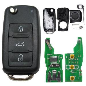 Schlüssel Gehäuse 5K0837202AD passend für VW Golf Polo Passat Tiguan SEAT SKODA