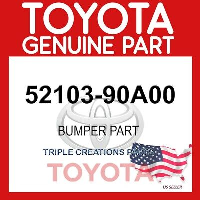 LH 52103-90A00 FRONT BUMPER 5210390A00 Genuine Toyota EXTENSION