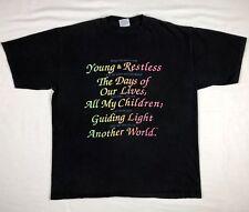 3d311afd9 item 2 Vtg 90s Soap Opera Days Of Our Lives Young Restless Mens XL Black  S/S T-Shirt C5 -Vtg 90s Soap Opera Days Of Our Lives Young Restless Mens XL  Black ...
