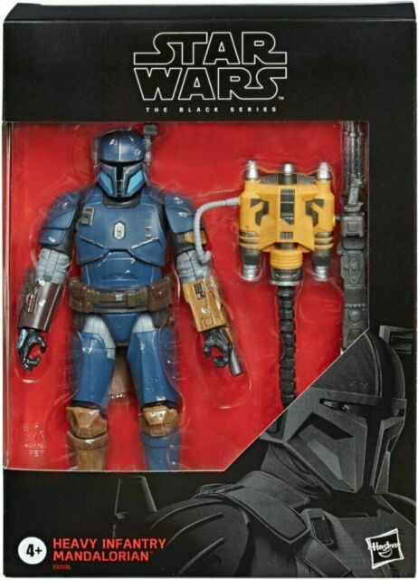 "HEAVY INFANTRY MANDALORIAN ( 6"" ) STAR WARS ( BLACK SERIES ) ACTION FIGURE D2 06"