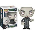 Funko Pop Nosferatu Dracula Vinyl Figure 136 Monster Horror Black White Teeth