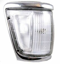Chrome front Side corner Light lamp for Toyota Hilux Mk3 pickup lens offside O/S