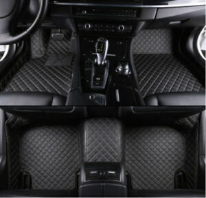Details About For Toyota Camry 2006 2018 Leather Car Floor Mats Waterproof Mat