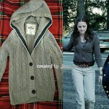 Hollister women's hooded cardigan ALT Bella Swan Twilight beige size small used