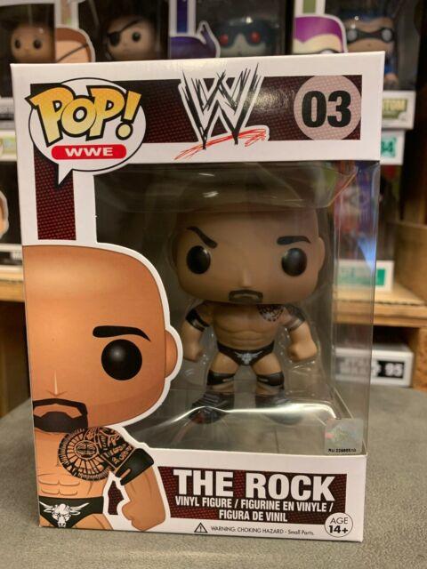 OLD SCHOOL ROCK CHASE WWE VINYL FUNKO POP