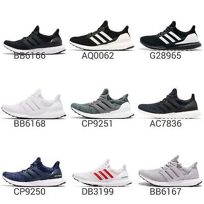 adidas UltraBOOST 4.0 Mens Cushion Running Shoes BOOST Sneakers Pick 1