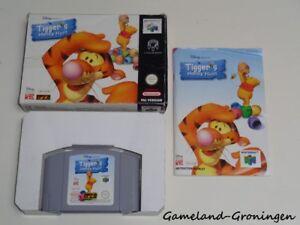 Nintendo 64 / N64 Game: Disney's Tigger's Honey Hunt [PAL] (Complete) [EUR]