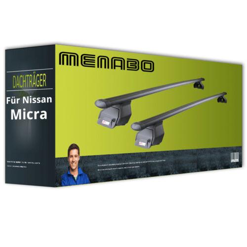 Dachträger für Nissan Micra II Typ K11 NEU FPA komplett Menabo Tema Stahl