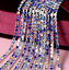 10Yard-Colorful-Crystal-Rhinestone-Close-Cup-Chain-Trim-Claw-Chain-Jewelry-Craft thumbnail 17