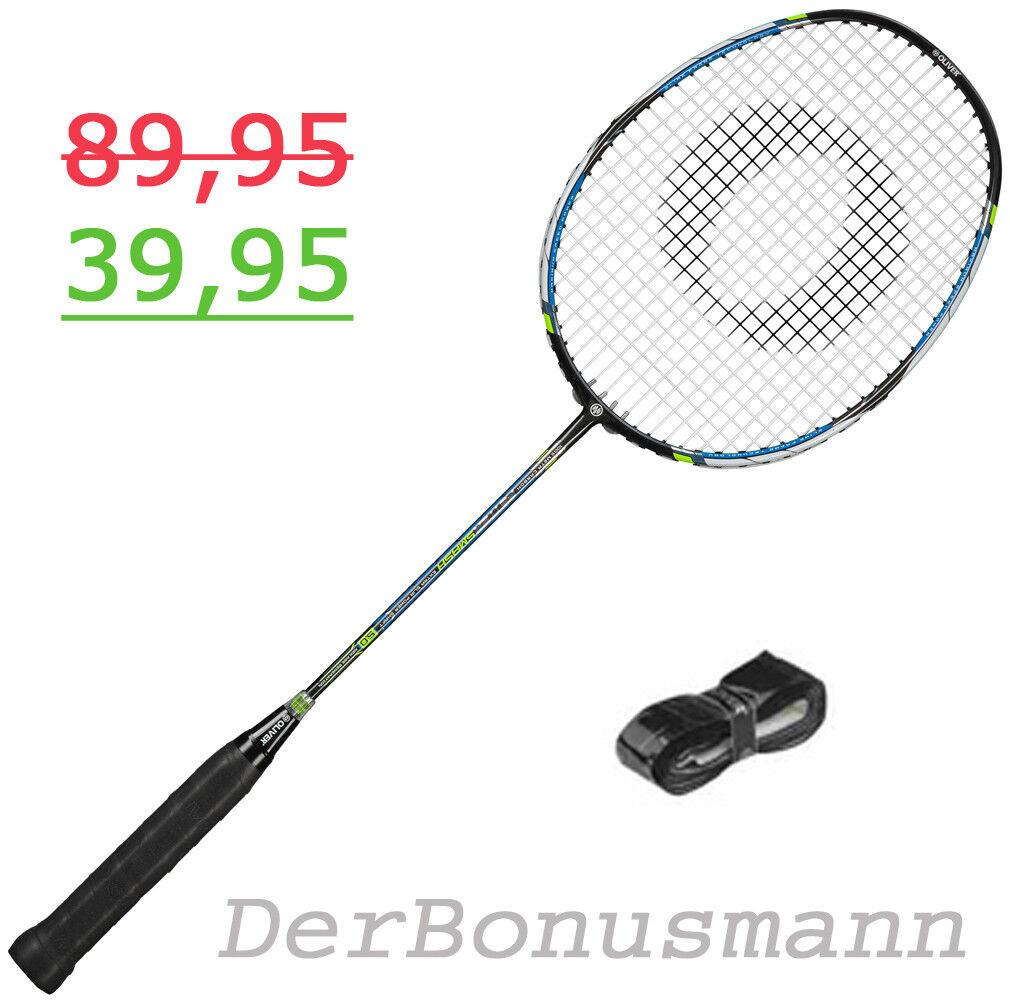 OLIVER Badmintonschläger FETTER SMASH SMASH SMASH 5.0  mit Bag und BONUS 3c80c5