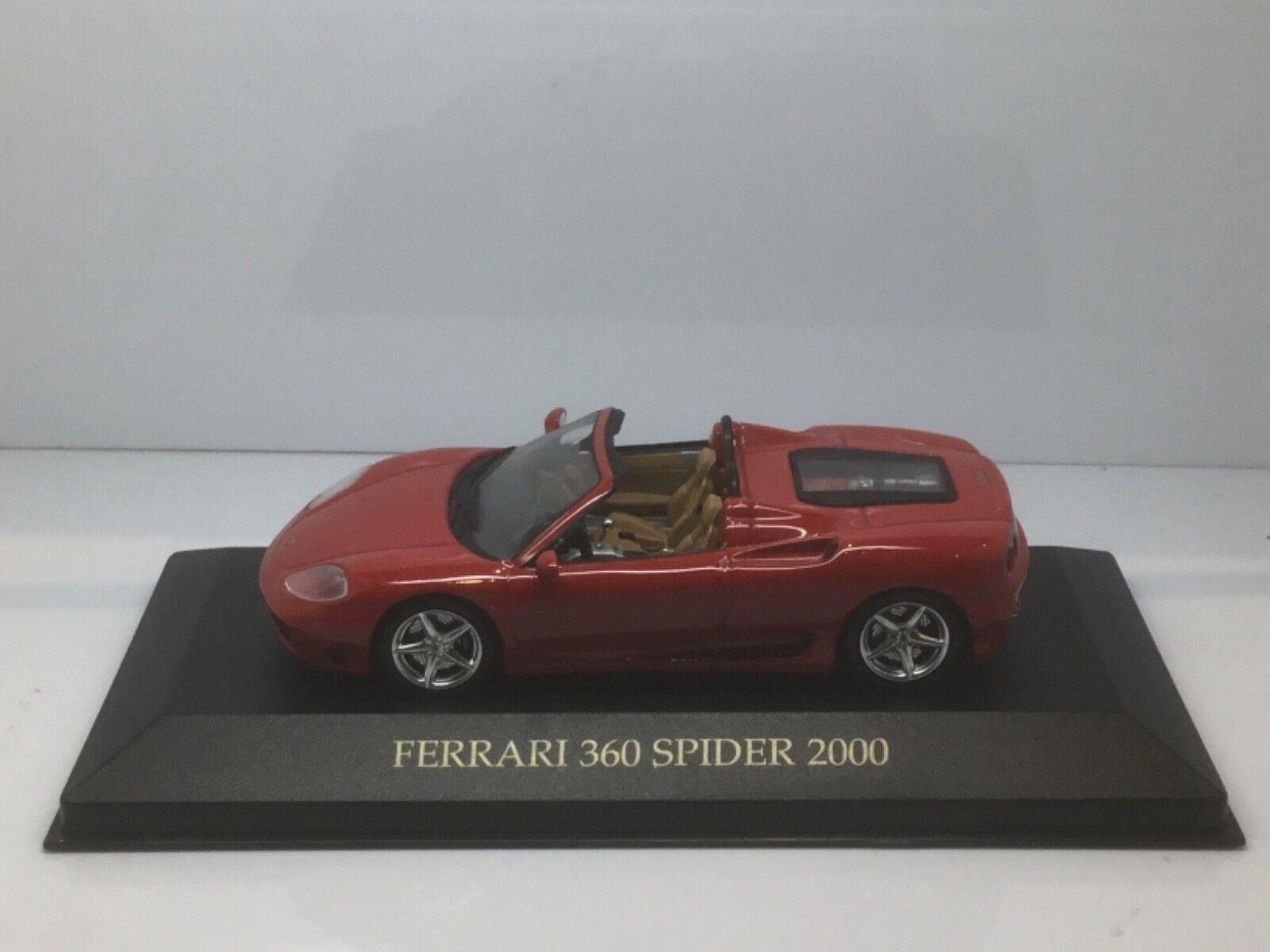 Ixo Models 1 43 Scale Diecast FER008 - 2000 Ferrari 360 Spider - Red