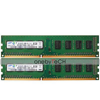 4GB 2GB PC3-10600U DDR3-1333Mhz 240-Pin for DELL 780 790 990 980 2X2GB