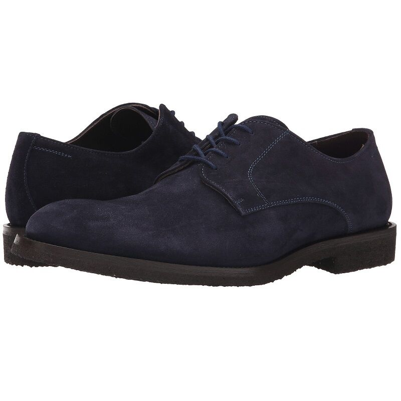 To Boot New York  Jonathan  Suede Derby, Men's Dress Casual shoes, Oxfords, Navy