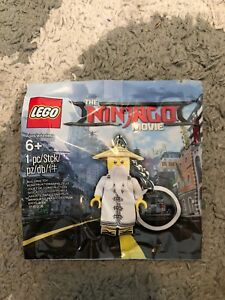 LEGO NINJAGO MOVIE Wu Key Chain 5004915 Polybag Brand New 1st Class Delivery