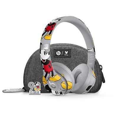 Beats Solo3 Wireless Headphones - Mickeys 90th Anniversary Edition - Grey
