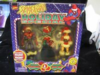 1997 Toy Biz Spider-man & Mary Jane Holiday Special Action Figure Set