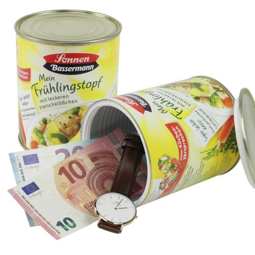 HMF Dosentresor Geldversteck Geheimversteck Sonnen Bassermann Mein Frühlingstopf