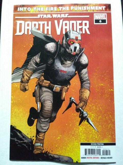 Star Wars Darth Vader #6 2nd Print 🔥 MARVEL 2020 🔥