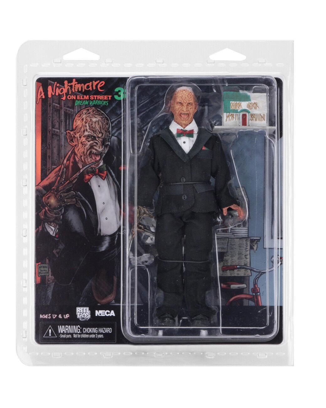Alptraum on Elm Street Part 3 bekleidet Action Figure Tuxedo Frotdy Krueger NECA