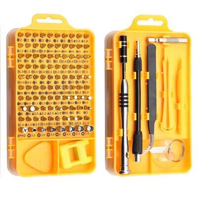 Small 6X Mini Screwdriver Precision Hex Torx Star Set Bits Repair Tool Kit