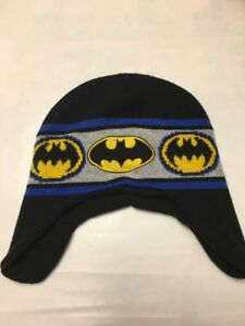 2a0d754d53c Image is loading Used-Batman-Toddler-Winter-Hat-Size-2T-6T
