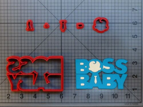 Baby Executive Movie Logo 266-B216 Cookie Cutter Set