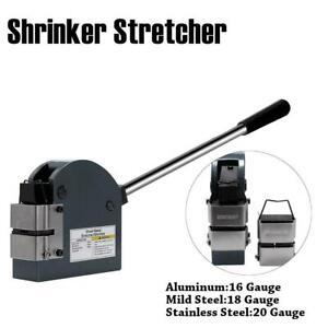 Industrial-Shrinker-Stretcher-16-18-20-Ga-Sheet-Metal-Forming-Shrinker-Stretcher