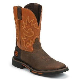 Justin Mens Hybred Western Work Boot Wk4944 Nib Ebay