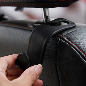 1x-Car-Seat-Hook-Purse-bag-Hanger-Bag-Organizer-Holder-Clip-Accessories-Black-NT