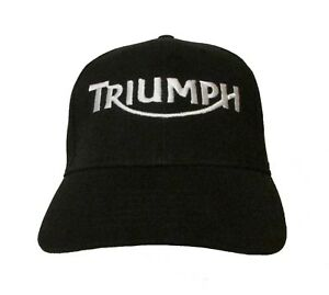 d535ea00b65 Image is loading Triumph-Motorcycle-Logo-Ver-2-Embroidered-Baseball-Hat-