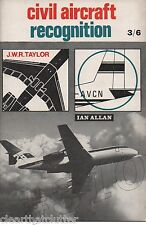 Civil Aircraft Recognition 1968 Ian Allen - John WR Taylor SKYVAN ADVERT Garrett