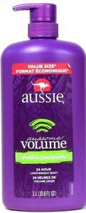 1-Bottle-Aussie-33-8-Oz-Aussome-Volume-24-Hr-Lightweight-Body-Shampoo-With-Pump