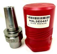 Command Hsk50 Shrink Fit Tool Holder H3l3e0437 Brand New