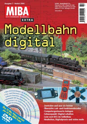 MIBA extra Modellbahn digital 7