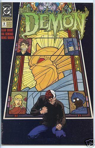 Demon 1990 series # 8 near mint comic book