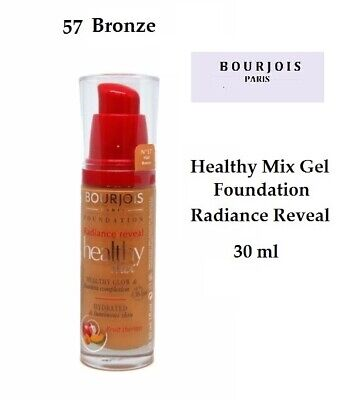 Bourjois Gel Foundation Radiance 16h Healthy Mix Glow 57 Bronze 30ml Ebay