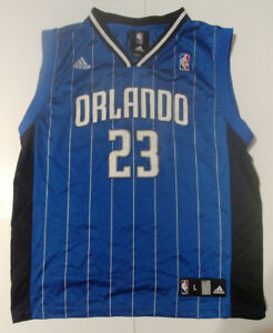 competitive price 79b45 d80e7 Details about Women Adidas Orlando Magic Jersey