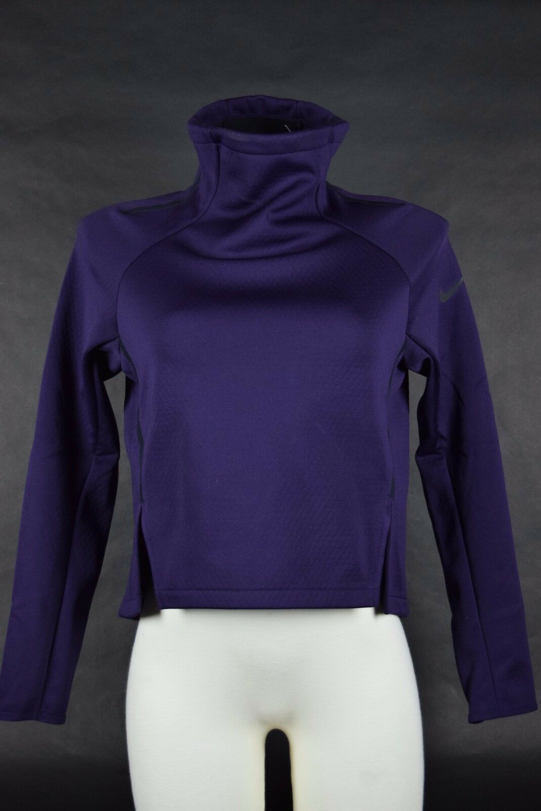 2541e184 Womens Nike Therma Sphere Top 822654 524 Sz S Purple Dri Fit | eBay